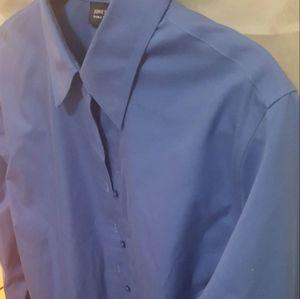 Jones NY Plus Size Ladies Tailored Shirt
